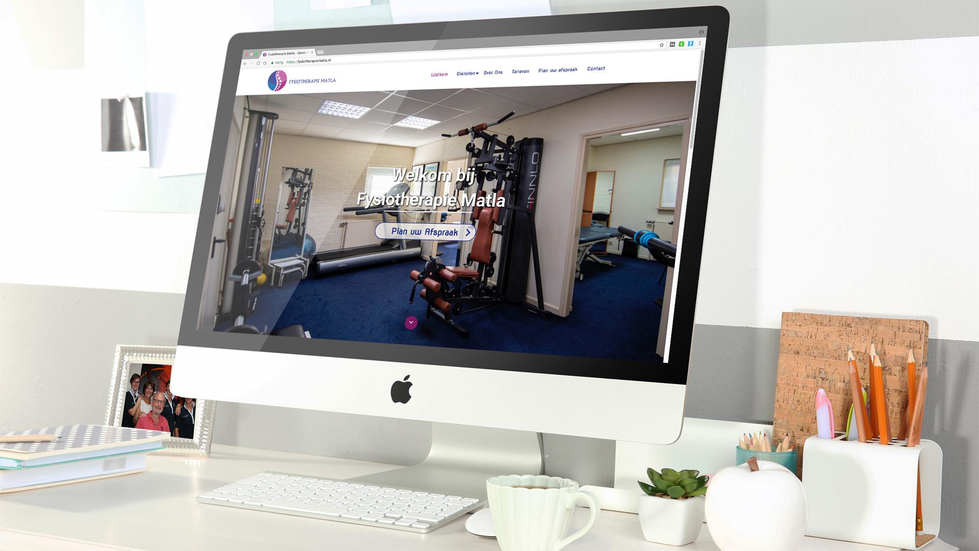 Fysiotherapie Matla - Lutim Creatief Mediabureau - Wij Maken Jouw Communicatie!